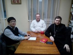 Миссионерская встерча с гостем из Китая